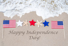 Happy Independence Day USA background Royalty Free Stock Photos