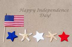 Happy Independence Day USA background Royalty Free Stock Photo