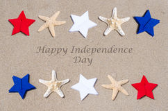 Happy Independence Day USA background Stock Photography