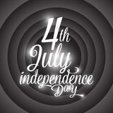 Happy independence day USA, 4th of July. Happy independence day USA, vector illustration eps10 Royalty Free Stock Photography