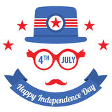 Happy Independence Day Stock Photos