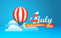 Happy independence day. Vector Stock Photography