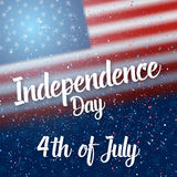 Happy Independence Day Vector Poster Stock Photography