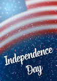Happy Independence Day Vector Poster Stock Photos