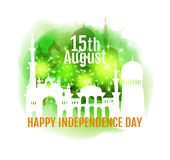 Happy India Independence day. Stock Photos