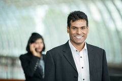 Happy Indian Business man. Royalty Free Stock Photos