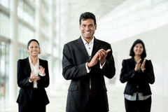 Happy Indian Business team. Royalty Free Stock Photos