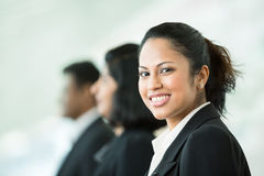 Happy Indian business team. Stock Photo