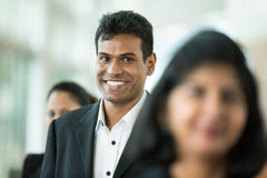 Happy Indian business team. Royalty Free Stock Photo
