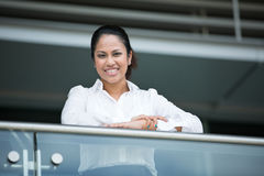 Happy Indian business woman. Royalty Free Stock Photography