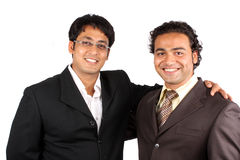 Happy Indian Businessmen Stock Image