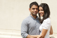 Happy Indian Couple Stock Photography