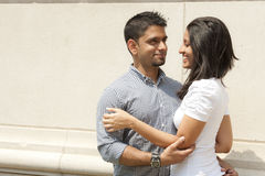 Happy Indian Couple Stock Photo