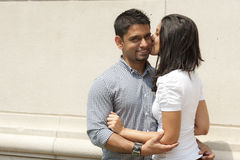 Happy Indian Couple Stock Images