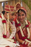 Happy Indian couple Royalty Free Stock Images