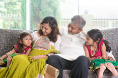Happy Indian family Royalty Free Stock Images