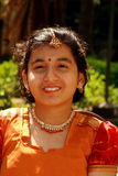 Happy Indian girl Stock Photography