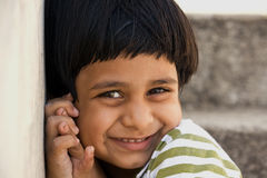 Happy Indian Girl Stock Images
