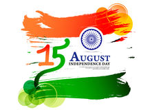 Happy Indian Independence Day Background. Vector illustration Royalty Free Stock Images