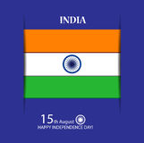 Happy Indian independence day Stock Images