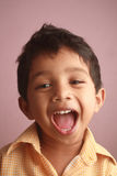 Happy Indian kid Stock Images
