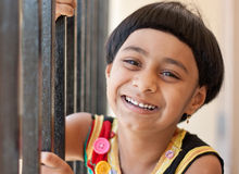 Happy Indian Kid Royalty Free Stock Photography