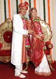 Happy Indian Marriage Stock Photo
