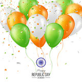 Happy Indian Republic day celebration background. Royalty Free Stock Photography