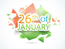 Happy Indian Republic Day celebration Royalty Free Stock Photos
