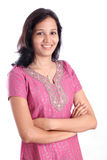Happy Indian woman Royalty Free Stock Images