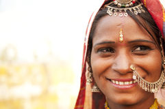 Happy Indian woman Royalty Free Stock Photo