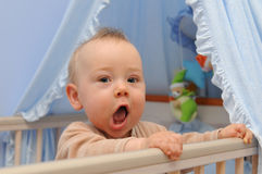 Happy infant Stock Images