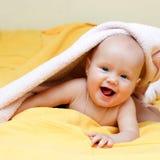 Happy infant Stock Image