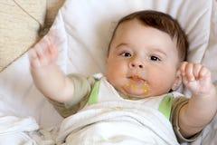 Happy infant. Stock Photos