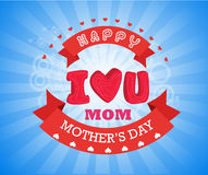 Happy International Womens Day set for celebration greeting card Stock Image