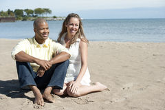Happy Interracial Couple Stock Photos