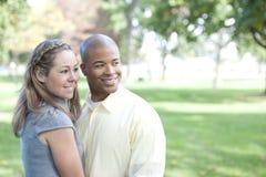 Happy Interracial Couple Stock Photos