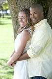 Happy Interracial Couple Royalty Free Stock Photos