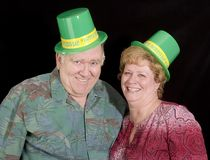 Happy Irish Couple Royalty Free Stock Photography