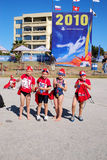 Happy Ironkids South Africa 2010 Royalty Free Stock Images