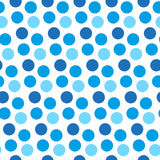 Happy Israel Independence Day seamless pattern with blue polka dot texture. Vector illustration. Happy Israel Independence Day seamless pattern with blue polka Stock Images