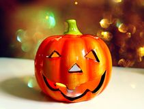 Happy jack O lantern Stock Photo