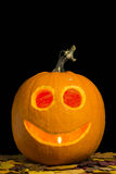 Happy Jack-o-lantern Royalty Free Stock Images