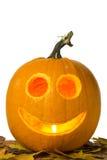 Happy Jack-o-lantern Royalty Free Stock Photography