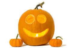 Happy Jack-o-lantern Royalty Free Stock Photos