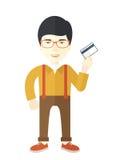 Happy japanese businessman Stock Photo