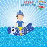 Happy Japanese children's day Royalty Free Stock Photography