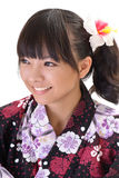 Happy Japaneses girl Stock Images