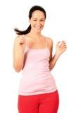 Happy jogger Royalty Free Stock Photo