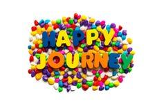 Happy journey Stock Photography
